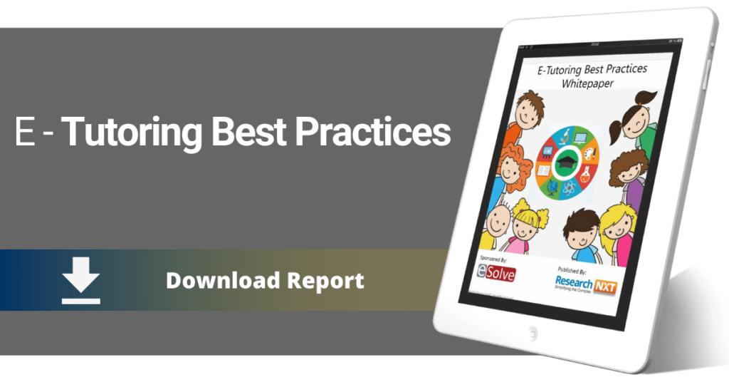 eTutoring Best Practices Whitepaper 2016
