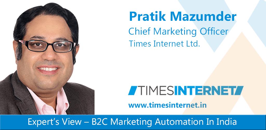 Pratik Inamdar onB2C Marketing Automation In India