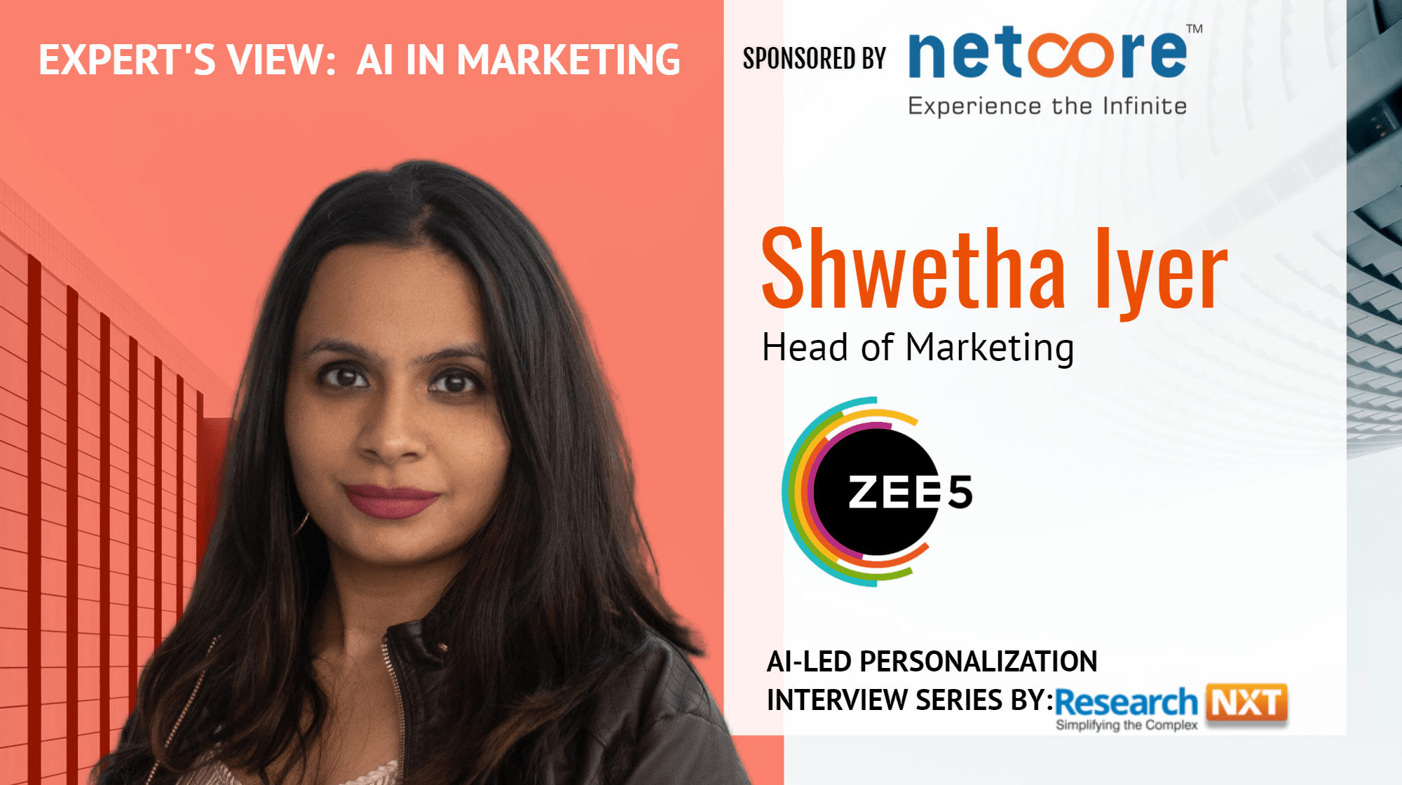 Shwetha Iyer on leveraging AI to drive Innovation at ZEE5